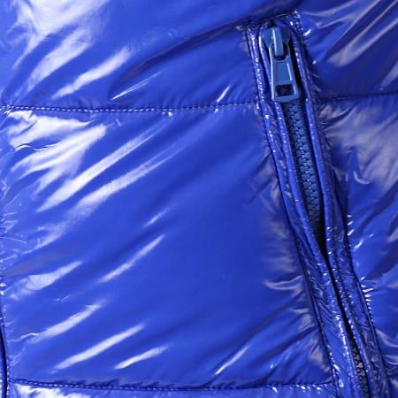 MTX - Doudoune Enduit 974 Bleu Roi