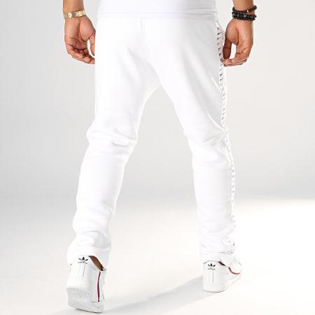 pantalon jogging classique blanc