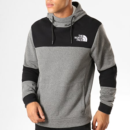 The North Face - Sweat Capuche Himalayan 3L6I Gris Chiné Noir