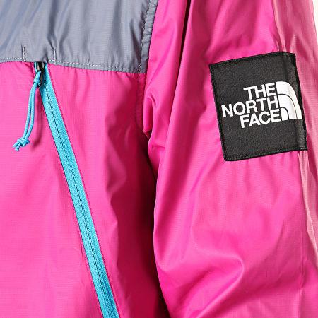 The North Face - Coupe-Vent Seasonal Mountain 1990 2S4Z Rose Fushia Gris