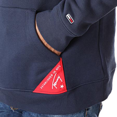 Tommy Hilfiger Jeans - Sweat Capuche Americana 7044 Bleu Marine