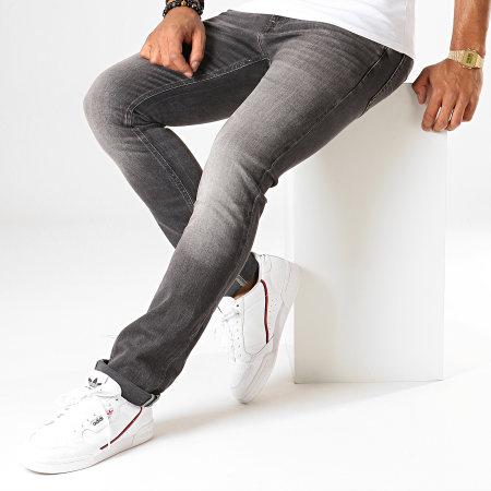 Tommy Hilfiger Jeans - Jean Slim Scanton Heritage 7053 Gris Anthracite