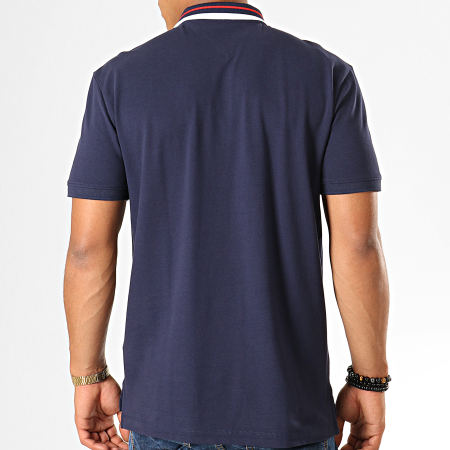 Tommy Hilfiger Jeans - Polo Manches Courtes Classics Tipped 7195 Bleu Marine