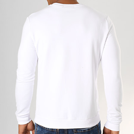 Berry Denim - Sweat Crewneck JB18088 Blanc