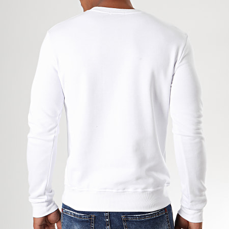 Berry Denim - Sweat Crewneck DY011 Blanc Argenté