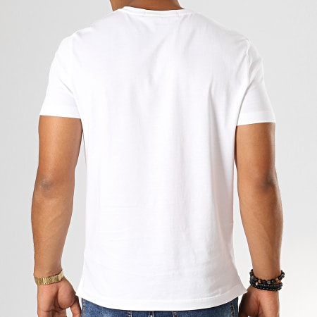 Calvin Klein Jeans - Tee Shirt Poche 3427 Blanc
