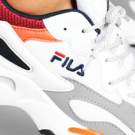 Fila - Baskets Ray Tracer 1010685 White Navy Rhubarb