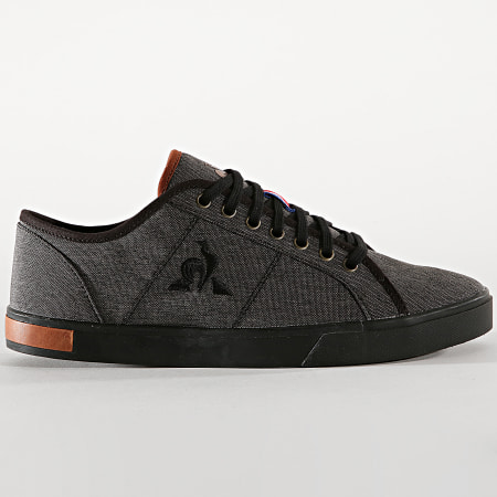 Le Coq Sportif - Baskets Verdon Winter Denim 1920596 Triple Black
