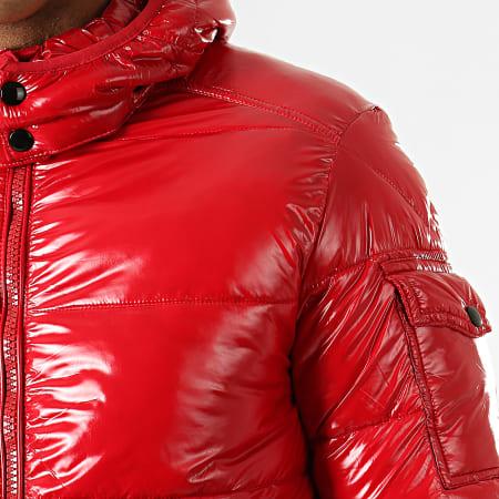 MTX - Doudoune Enduit 974 Rouge