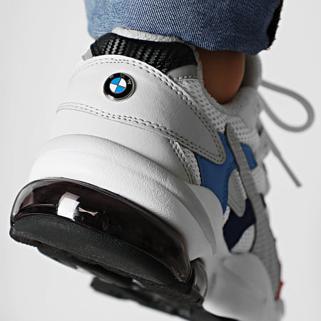 Puma - Baskets BMW M Motorsport Cell Alien 339990 Puma White Blue High Risk Red
