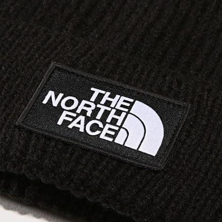 The North Face - Bonnet TNF Logo Box Cuf Noir