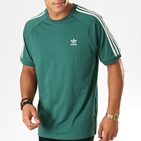 adidas Tee Shirt A Bandes BLC 3 Stripes ED5956 Vert