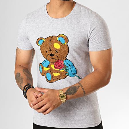 Berry Denim - Tee Shirt BJ-006 Gris Chiné