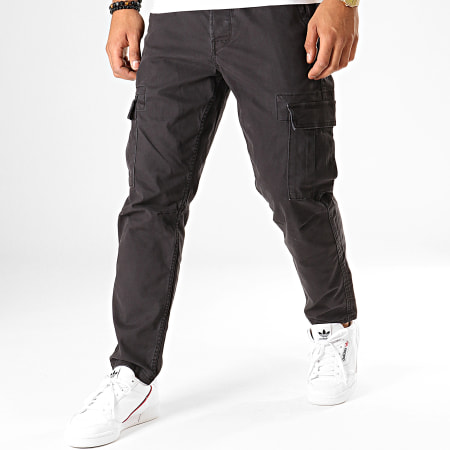 Only And Sons - Pantalon Cargo Saged Cargo Noir