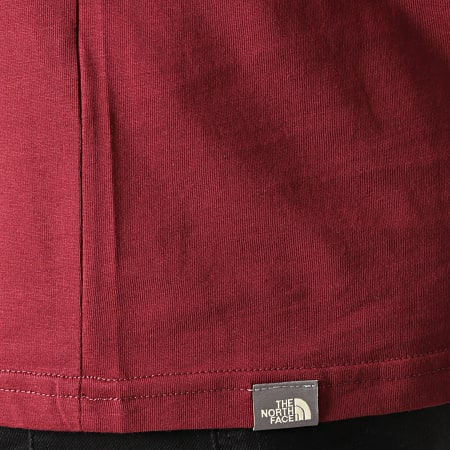The North Face - Tee Shirt Manches Longues Easy 2TX1 Bordeaux