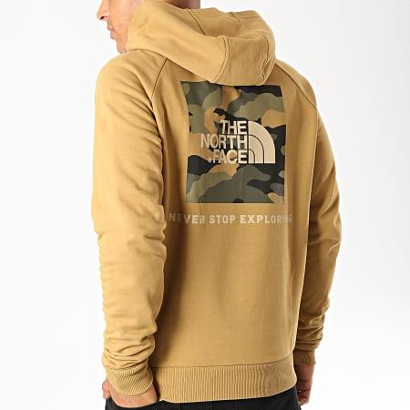 The North Face - Sweat Capuche Raglan Red Box 2ZWU Camel
