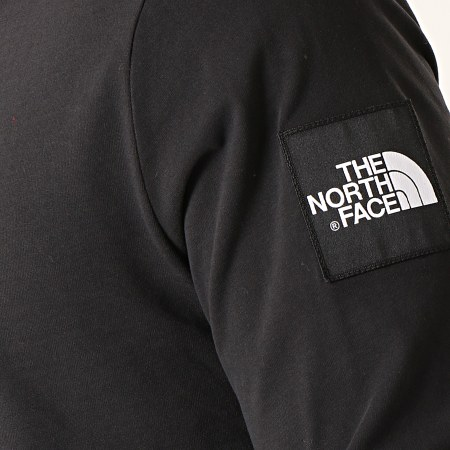 The North Face - Tee Shirt Manches Longues Fine 2 3YHB Noir