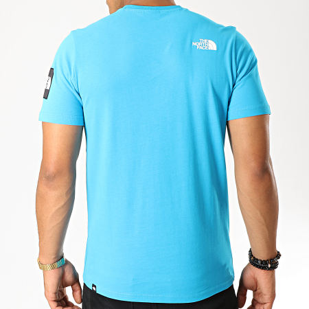 The North Face - Tee Shirt Fine 2 3YHC Bleu Clair