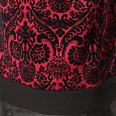 Uniplay - Sweat Crewneck UY437 Rouge Noir Renaissance