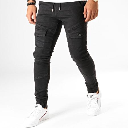 Uniplay - Jogger Pant Jean 133 Noir
