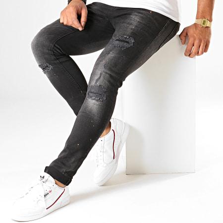 Uniplay - Jean Slim 126 Noir
