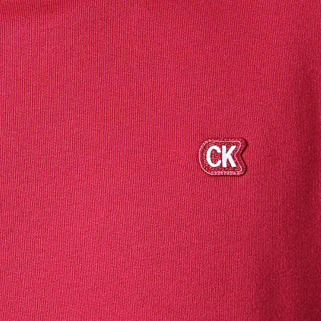 Calvin Klein - Sweat Crewneck Chest Badge 2771 Bordeaux