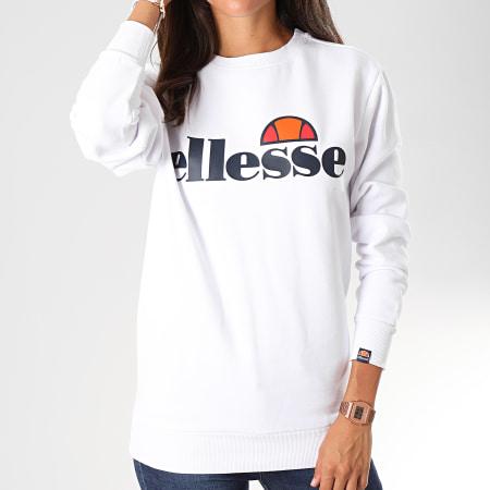 Ellesse - Sweat Crewneck Femme Agata SGS03238 Blanc