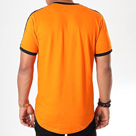 Ellesse - Tee Shirt Oversize A Bandes Fede SHA05907 Orange
