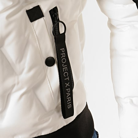 Project X - Bomber Col Mouton 1950008 Blanc
