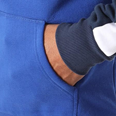 Ellesse - Sweat Capuche A Bandes Afton SHC07328 Bleu Roi Rouge Bleu Marine