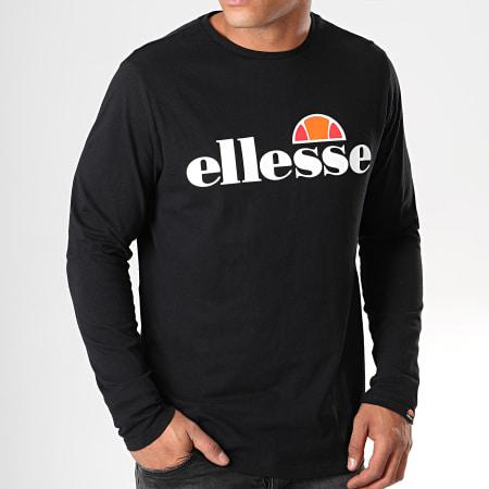 Ellesse - Tee Shirt Manches Longues Grazie SHC07406 Noir