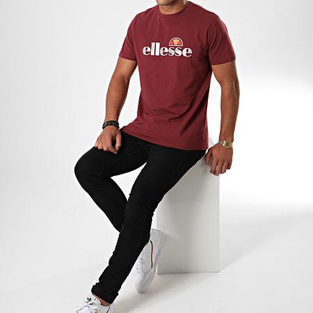Ellesse - Tee Shirt Giniti 2 SXC08170 Bordeaux Réfléchissant