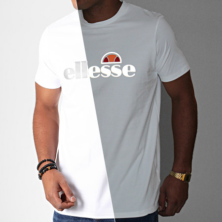 Ellesse - Tee Shirt Giniti 2 SXC08170 Blanc Réfléchissant