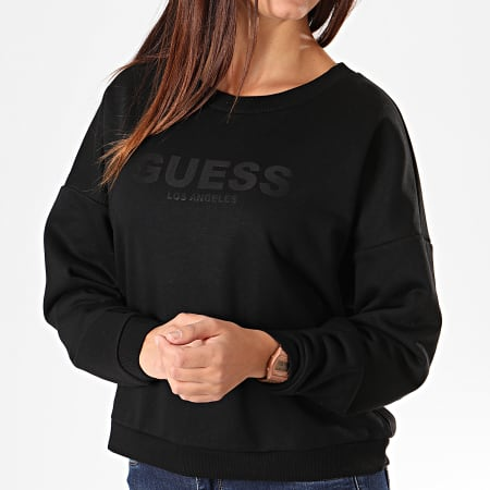 Guess - Sweat Crewneck Femme W94Q77-K8800 Noir