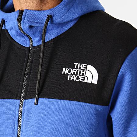 The North Face - Sweat Zippé Capuche Himalayan 3OD4 Bleu Roi Noir