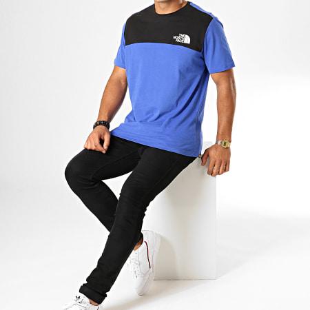 The North Face - Tee Shirt 3XYC Bleu Roi Noir