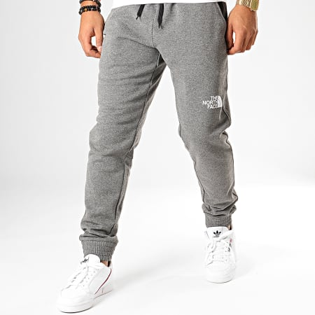The North Face - Pantalon Jogging Standard 3XYF Gris Chiné