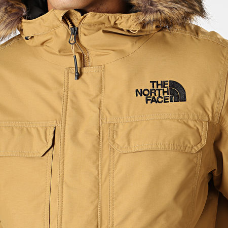 The North Face - Parka Fourrure Gotham 33RG Vert Kaki Clair