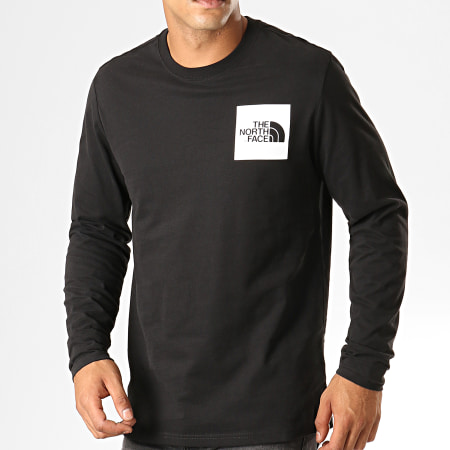 The North Face - Tee Shirt Manches Longues Fine 37FT Noir