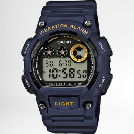 Casio - Montre Collection W-735H-2AVEF Bleu Marine