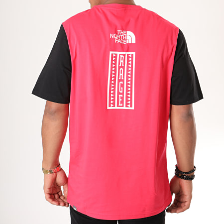 The North Face - Tee Shirt Rage Graphic 3XXJ Rouge Noir
