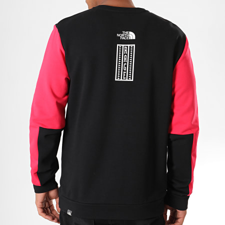 The North Face - Sweat Crewneck Rage Graphic 3XXE Rouge Noir