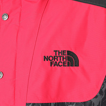 The North Face - Veste Zippée Capuche 94 Rage 3XAP Rouge Noir
