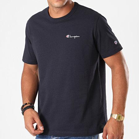 Champion - Tee Shirt 211985 Bleu Marine