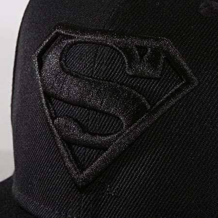 Superman - Casquette Snapback Original Logo Superman Noir