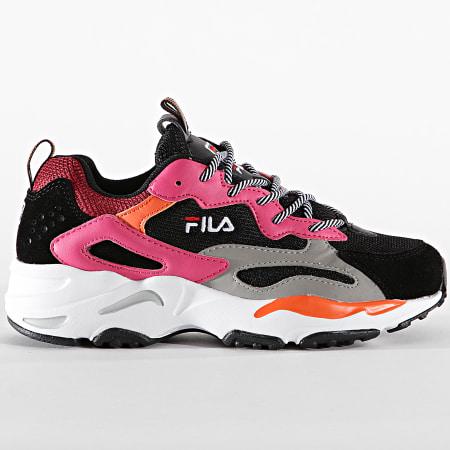 Fila - Baskets Femme Ray Tracer 1010686 Black Pink Yarrow