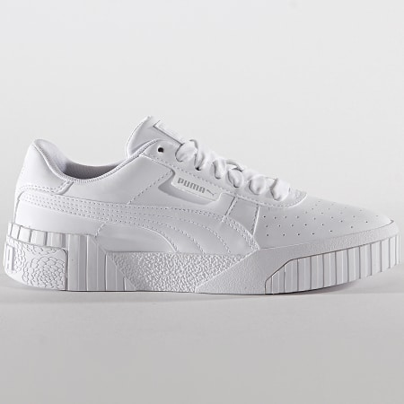 Puma Baskets Femme Cali Patent 370139 Puma White