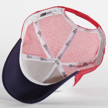 New Era - Casquette Trucker Athletico Foam Filled 12044777 Rouge Blanc Bleu Marine