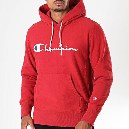 Champion - Sweat Capuche 212574 Rouge