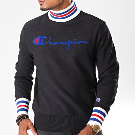 Champion - Sweat Col Montant 213698 Noir